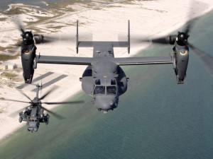 Picture of a V-22 Osprey